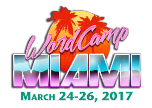 WordCamp Miami Volunteer Organizer