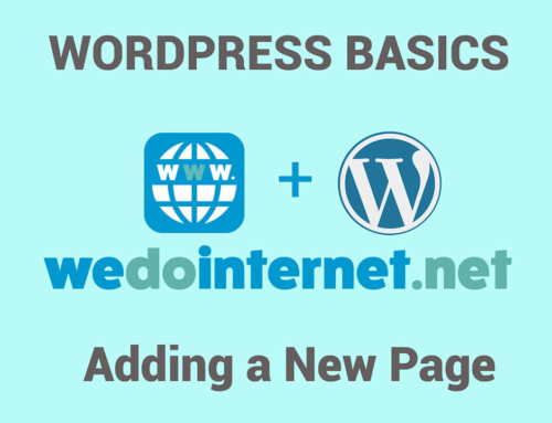 How to Add a New Page in WordPress