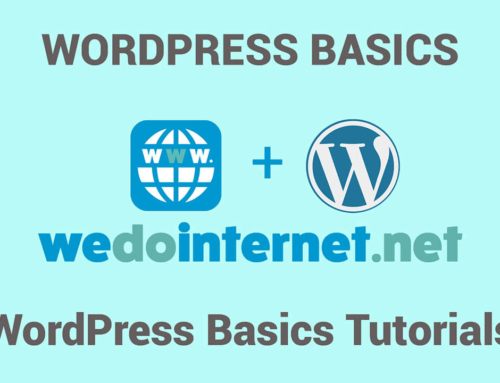 WordPress Basics Tutorials Collection
