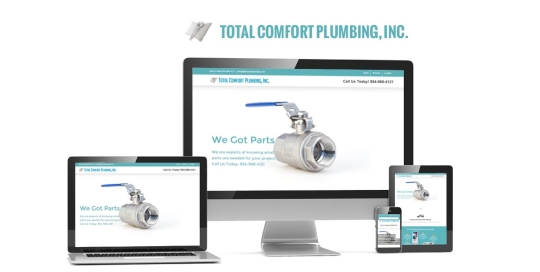 total-comfort-plumbing-small-business-website