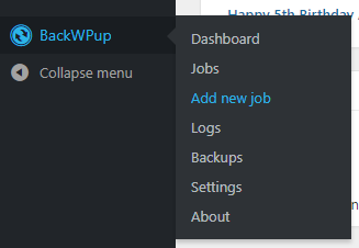 Integrating EasyCron and Dropbox with BackWPup