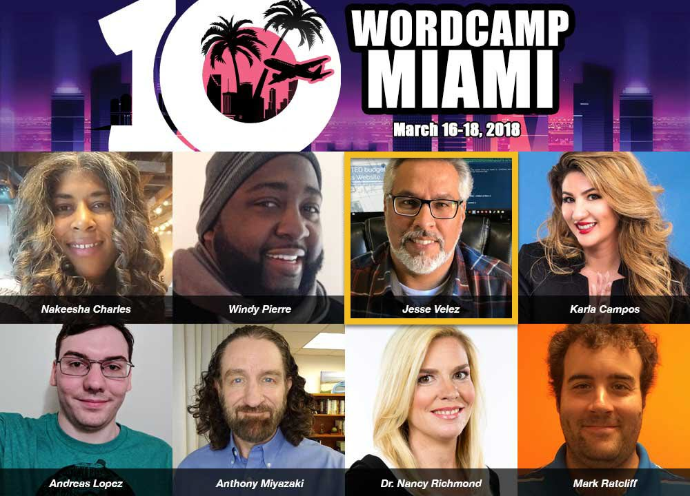 Jesse Velez Lightning Talk at WordCamp Miami 2018