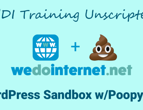 How to Install a WordPress with Poopy Life