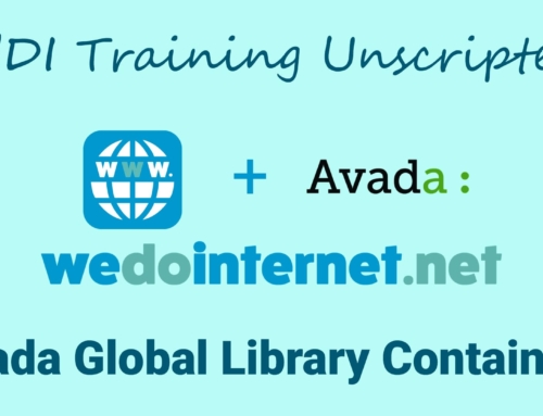 How to Use Avada Theme's Global Elements and Containers in WordPress