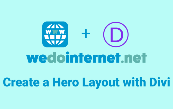 Learn How to Create a Professional Hero Layout Using Divi