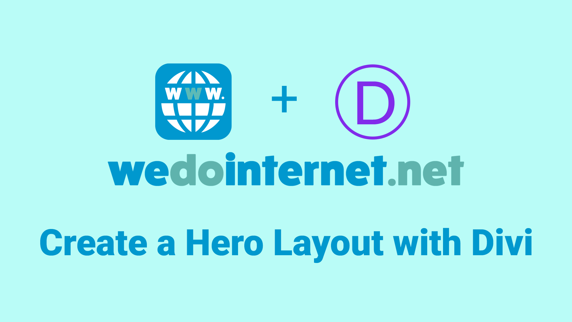 How to Create a Professional Hero Layout Using Divi - We Do