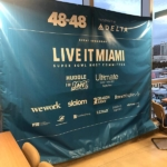 Live It Miami WeWork Event for Super Bowl LIV and 48in48 Super Service Event.
