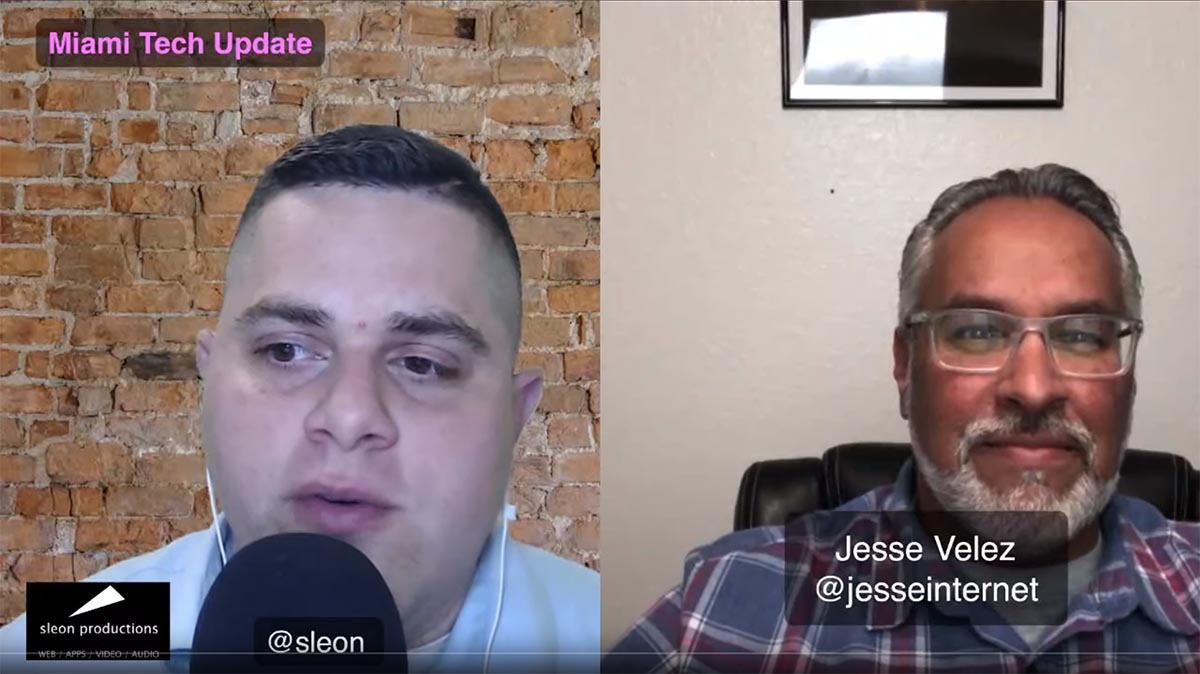 podcast discussing wordcamp miami jesse velez and wedointernet